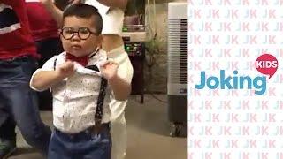 Cute boy dancing!