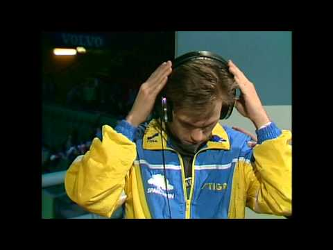 1990 European Championships (Ms-Final) Mikael Appelgren - Andrzej Grubba [Full Match in HD]