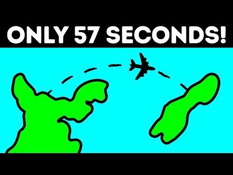 The Shortest 57-Second Passenger Flight in the World
