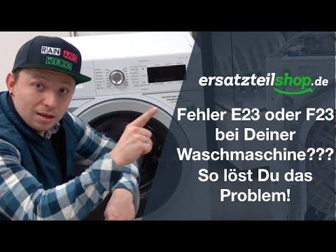 bosch waschmaschine fehlercode e18