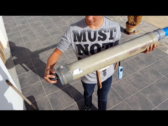 Bazooka lanza patatas casero-Potato Cannon