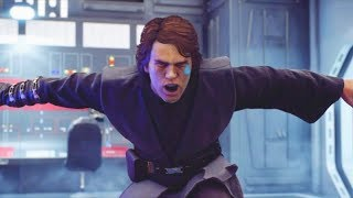 Star Wars Battlefront 2 Funny Moments #32 Anakin Hates Sand