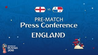 FIFA World Cup™ 2018: ENG vs PAN : England - Pre-Match Press Conference