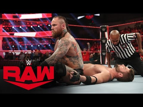 Aleister Black Destroys A Local Competitor In Seconds: Raw, Jan. 20, 2020