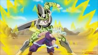 """Dragon ball Z """"FAN ANIMATION"""" Two blows can defeat Cell!!"""