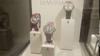 Atelier Horlogerie haut de gamme DEMONACO (certifié poinçon de geneve) à Top Marques Monaco 2018