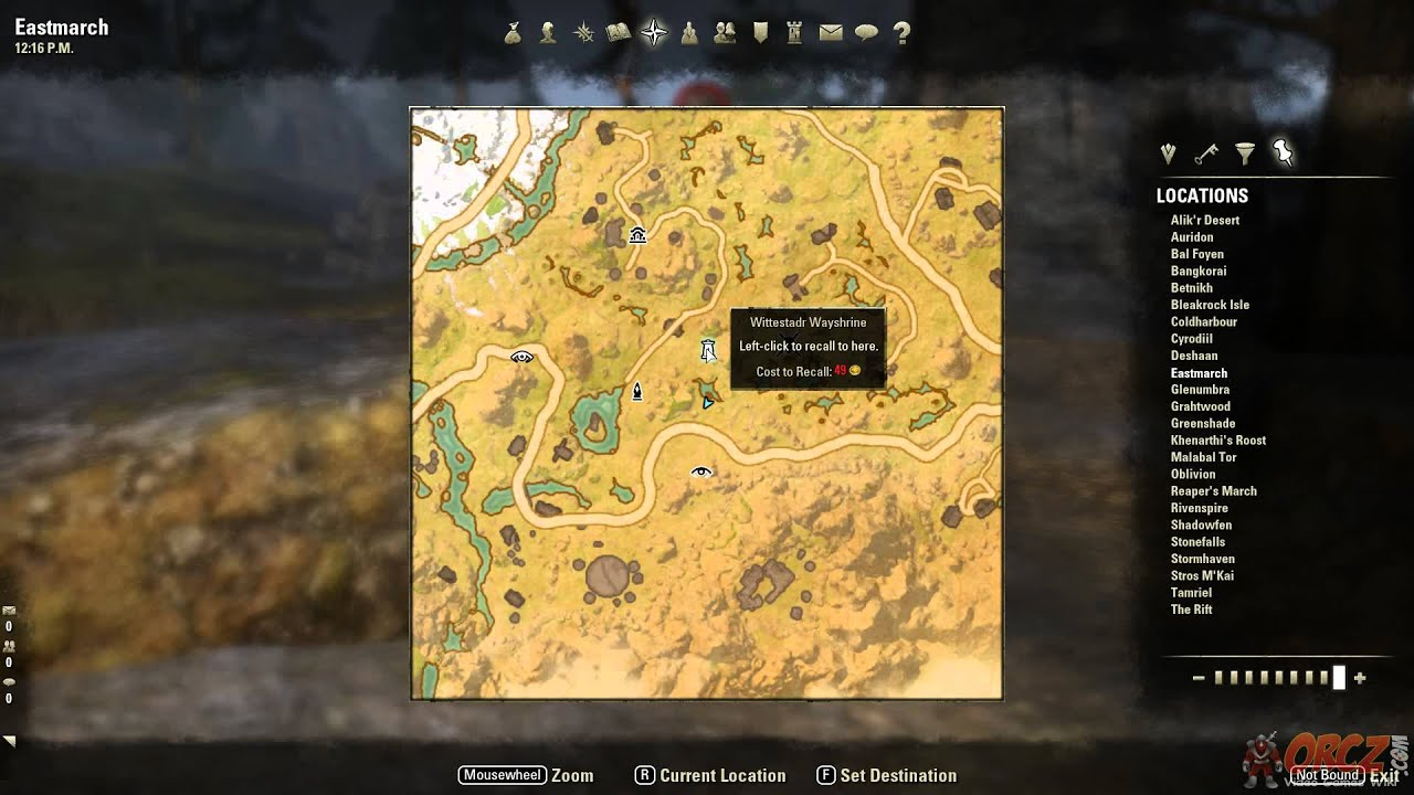 Eastmarch Treasure Map III Location - The Elder Scrolls Online