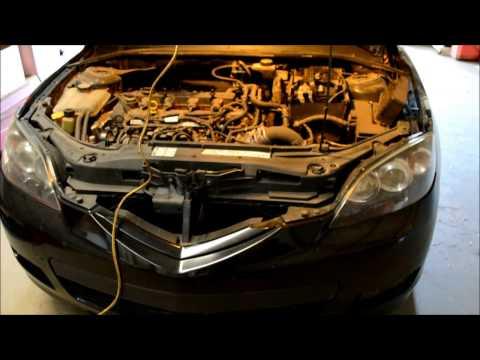 For 2006 Mazda 3 L4 2.0L 2.3L Engine Coolant Reservoir