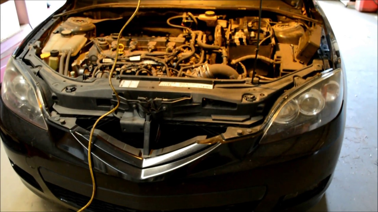 hight resolution of how to locate and replace coolant temperature sensor 2004 2009 mazda 3 2 3l