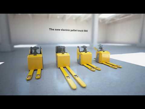 Transpaletas ERE 120/125/225: robustas, confiables y e adaptables