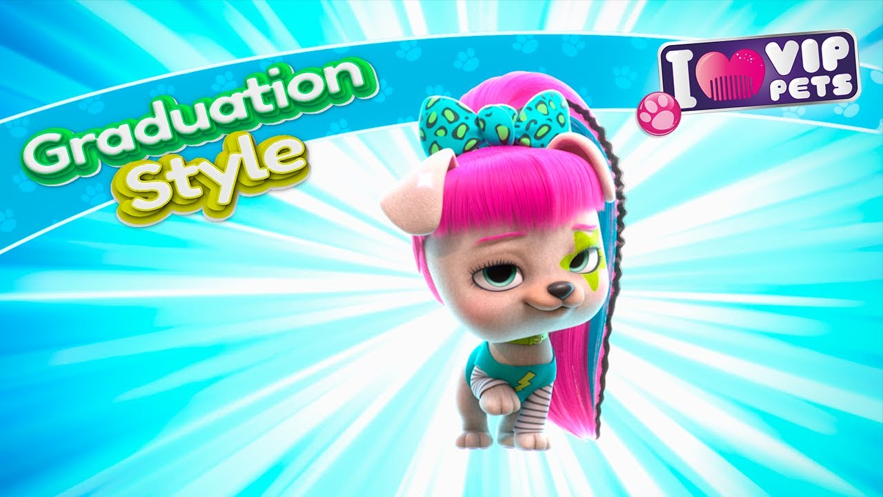🎉🎆 GRADUATION Style 🎆🎉 VIP PETS 🌈 HAIRSTYLES 💇🏼♀️ Full Episodes ✨ CARTOONS for KIDS in ENGLISH