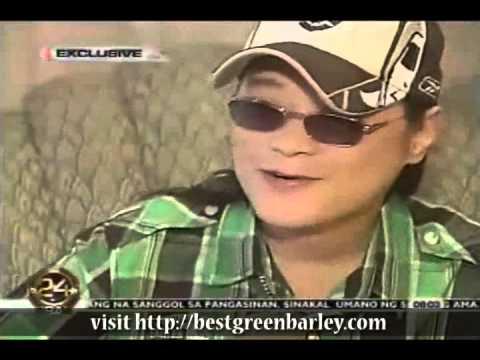 April Boy Regino Sante Pure Barley Testimonial