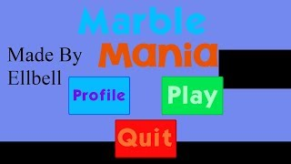 This is me playing Marble Mania, a game by Ellbell. Channel: https:...