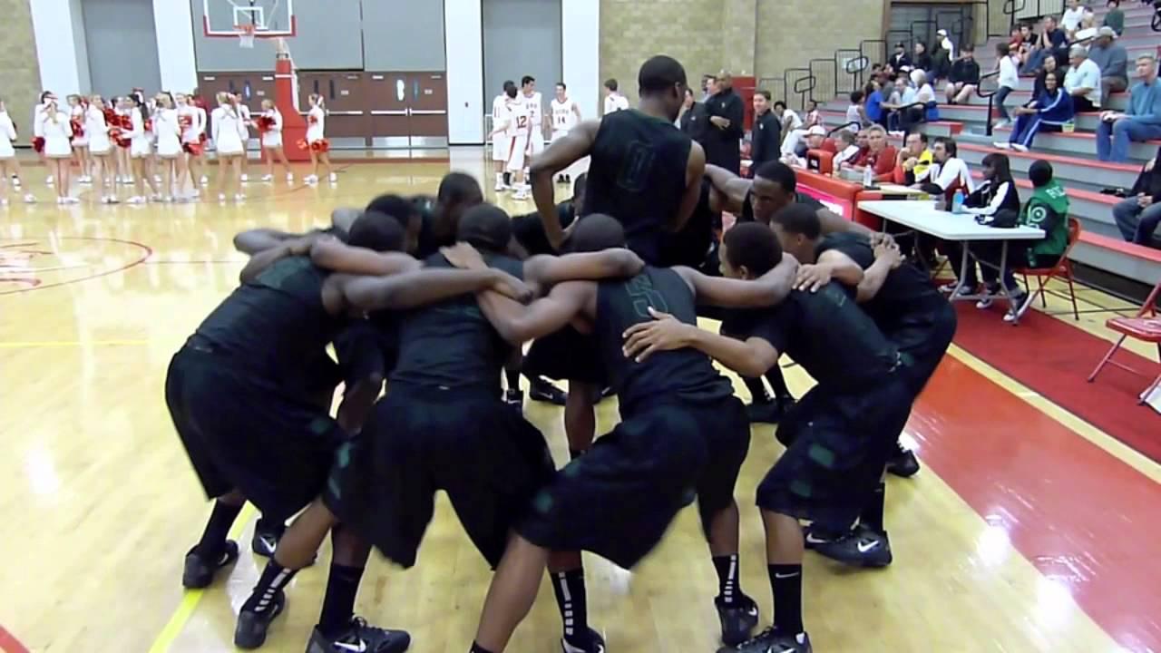 Lincoln Hornets pregame basketball routine - YouTube