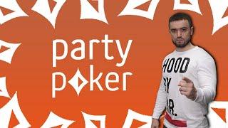 09.07.2017 stream PartyPoker ADVENTURE - 13: fastforward 100nl + 200pl PLO