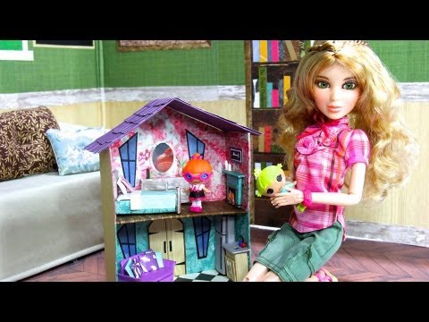 How To Make A Doll S Dollhouse Plus Fun Finds Toys For