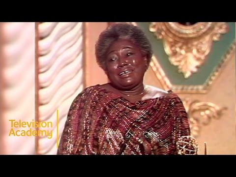 Esther Rolle Wins Outstanding Supporting Actress in a Limited Series or Special  Emmys 1979