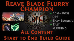 [PoE] [Guide] Reave + Blade Flurry Impale Champion 3.10 Delirium Ready | #Bosser and #Mapper in one!