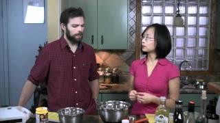 Gluten Free Vegan Waffles & Vietnamese Spring Rolls