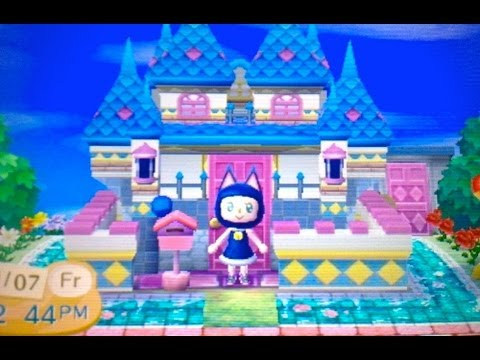 Acnl Cute Wallpaper Qr Codes Animal Crossing New Leaf Town Tour Youtube