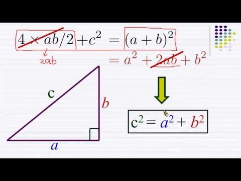 畢氏定理的證明 (歐幾里得 Euclid's Proof) | Doovi