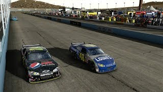 4-Way Fight, 2 Races To Go! | NASCAR 09 Chase For The Cup (Part 6)