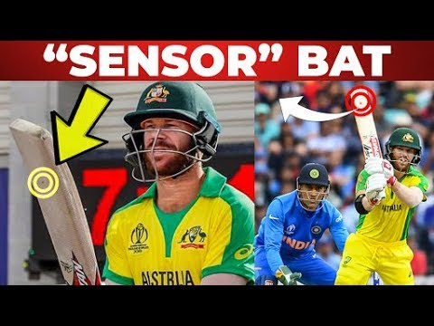David Warner Using 'Sensor' Bat!! | ICC World Cup 2019