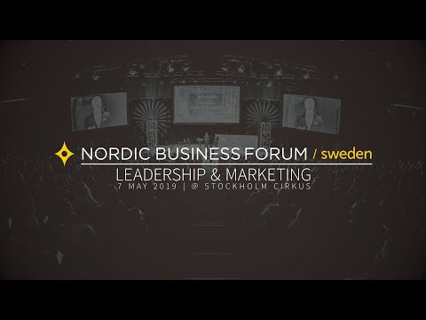 Nordic Business Forum Sweden 2019: Lineup announcement