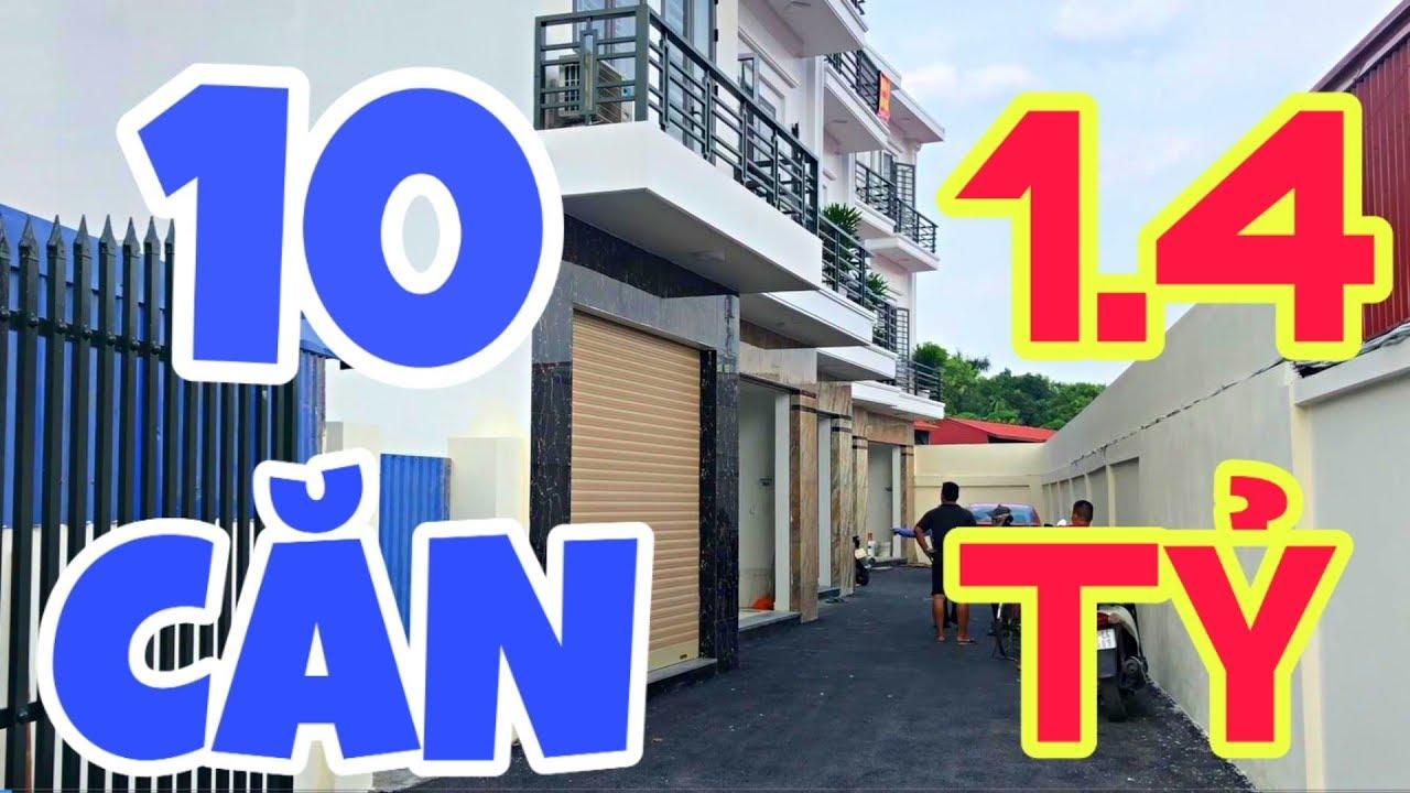 Dãy Nhà 10 Căn Giá Rẻ 3 Tầng Ôto Đỗ Cửa 1,4 Tỷ | Nhà Đất Quang Minh