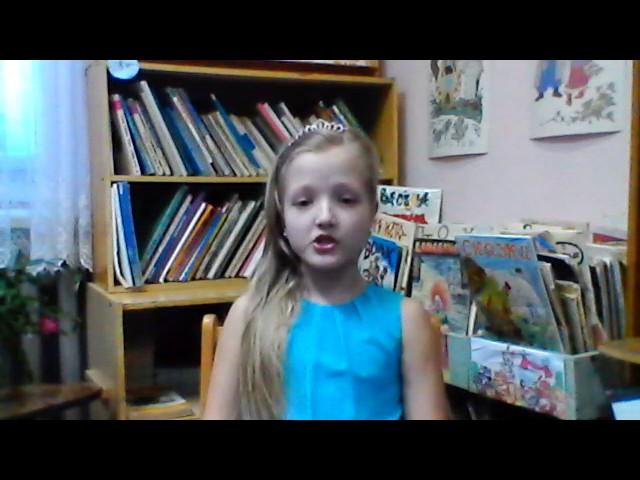 Изображение предпросмотра прочтения – ВалерияЖданова читает произведение «Два великана» М.Ю.Лермонтова
