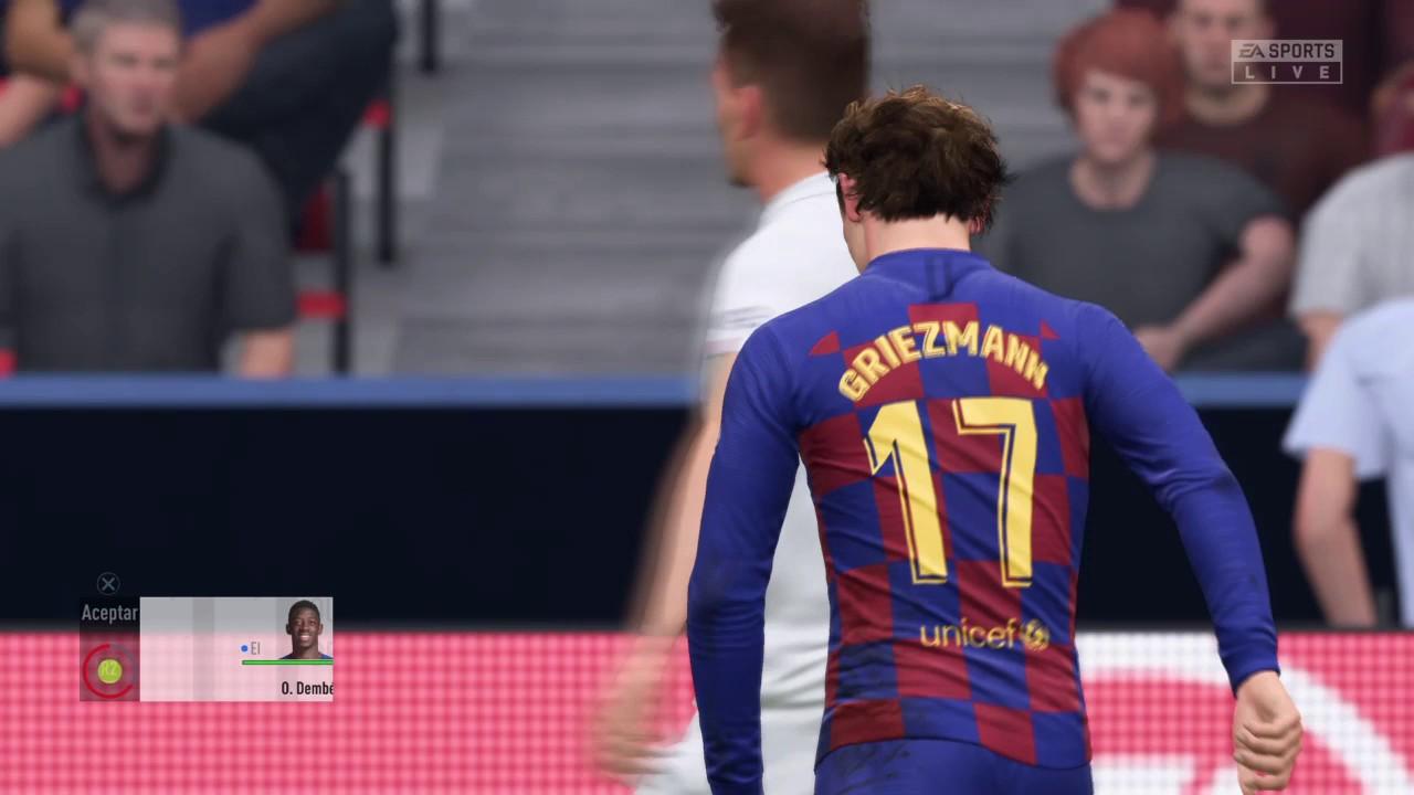 FC BARCELONA VS PSG PARTIDO DE COPA - YouTube