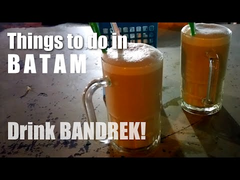 Things To Do In Batam Indonesia - Drink Bandrek