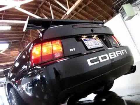 2003 ford mustang svt cobra engine rev youtube