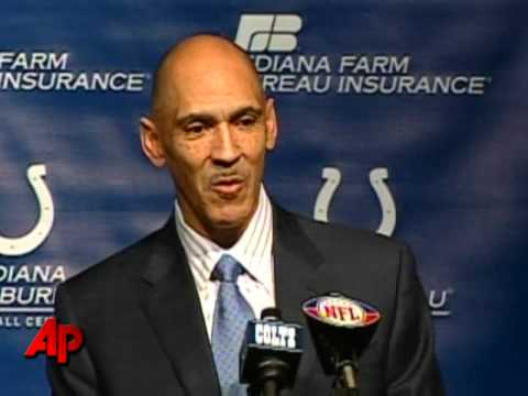 Colts Coach Tony Dungy Retires