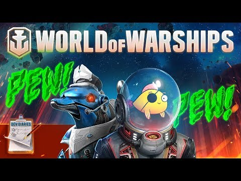 [World of Warships] Developer Diaries: Space Warships