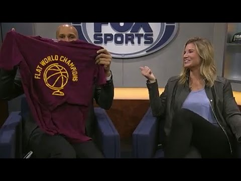Richard Jefferson explains Kyrie Irving's 'earth is flat' comments | FOX SPORTS OHIO thumbnail