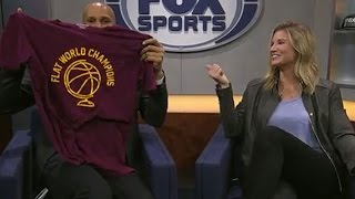 Richard Jefferson explains Kyrie Irving's 'earth is flat' comments | FOX SPORTS OHIO