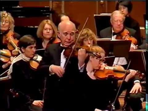 Joseph Silverstein plays Brahms Violin Concerto