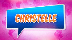 Joyeux anniversaire Christelle