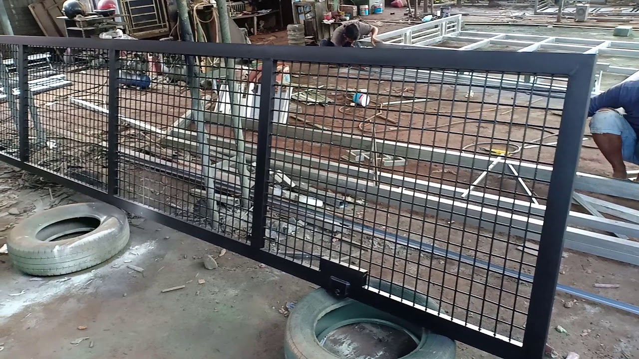 Pagar Wiremesh - YouTube