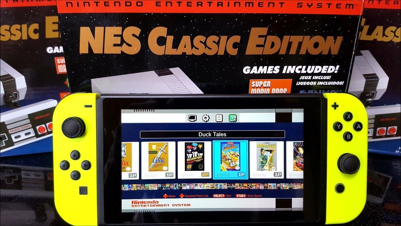 Nintendo Classic Edition emulator for Nintendo Switch Homebrew