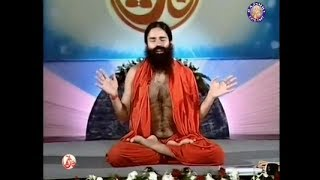 baba ramdev yoga for nasal problems Credit-Aastha tv channel Allerg...