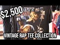 $2,500 VINTAGE RAP TEE COLLECTION! ***rare***