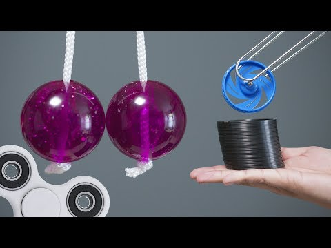Oddly Satisfying - Fidget Toys From The Past?