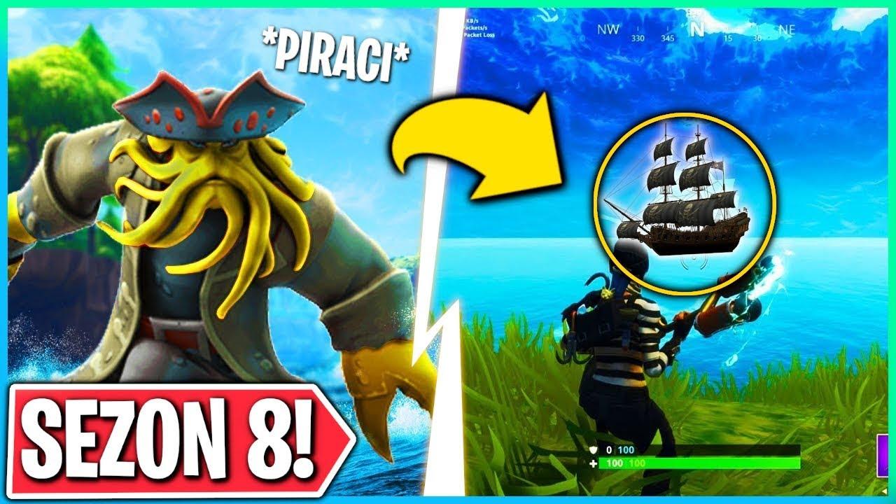 Piraci W Sezonie 8 Pierwsza Oficjalna Zapowiedź Fortnite Battle