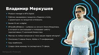 Netpeak Friends — Владимир Меркушев