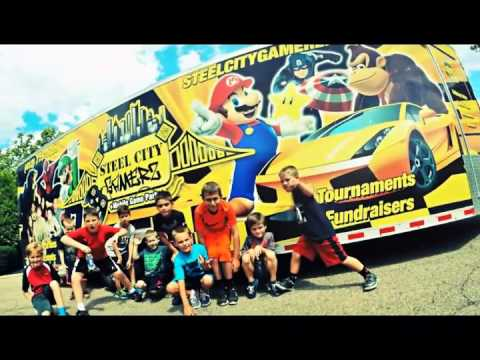 FUN BOYS OR GIRLS BIRTHDAY PARTY IDEA | MOBILE GAME TRUCK | STEEL CITY GAMERZ