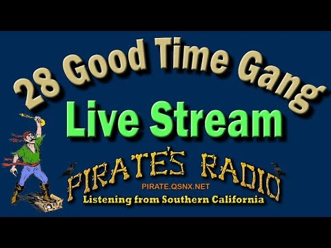 Pirate's Radio. 01-01-18. Happy 2018 Everyone, Hearing TX AZ LA UT WY