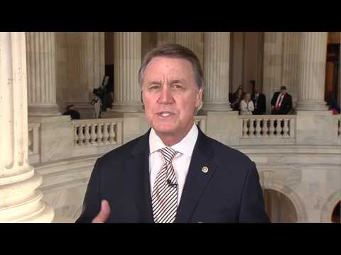 Senator David Perdue Discusses the Border Adjustment Tax