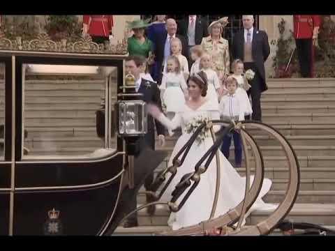 Konigliche Hochzeit Prinzessin Eugenie Und Jack Brooksbank Am 12 10